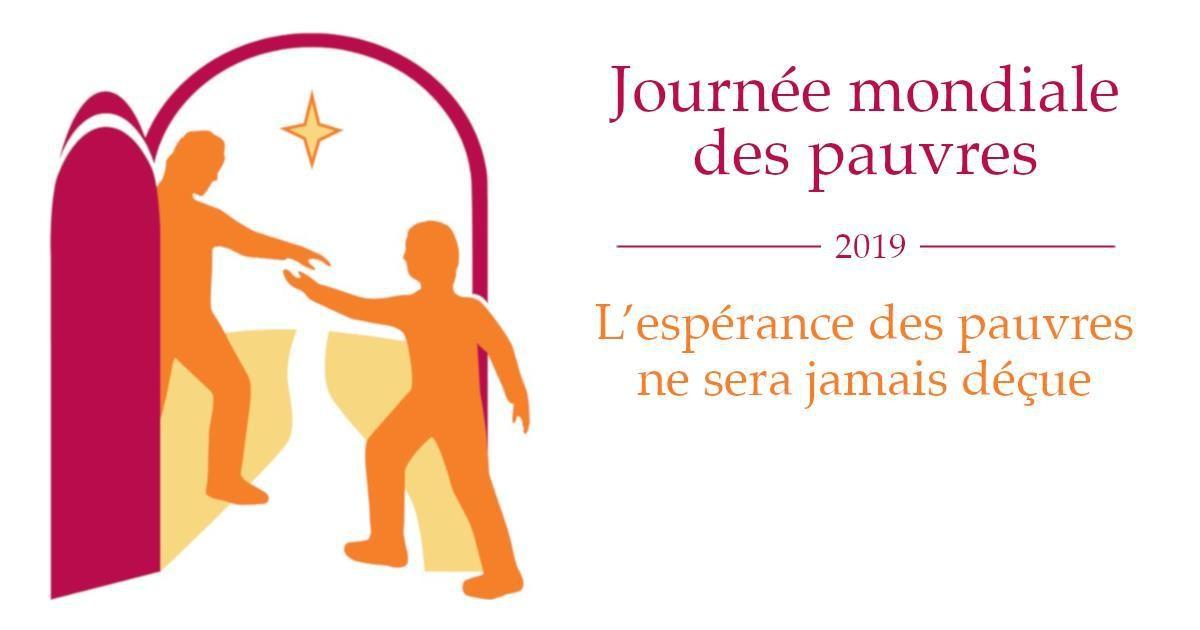 journée mondiale des pauvres 2019 Servons la Fraternité