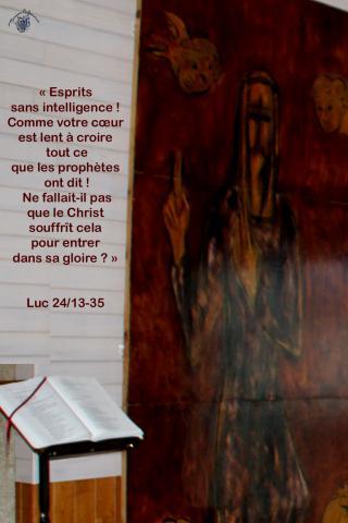 """Evangile de Pâques 'Servons la Fraternité"""""""